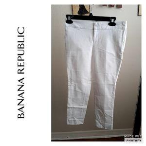 Banana Republic Hampton fit white pants..sz 0p